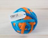 LIFESAVER - vibrant hand dyed self striping sock yarn