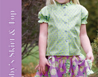 Abby's Skirt & Top sizes 6, 7, and 8