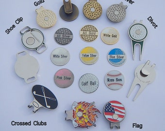 Personalized Golf Markers