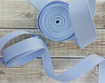 3/8 or 5/8 inch BLUEBELL grosgrain ribbon