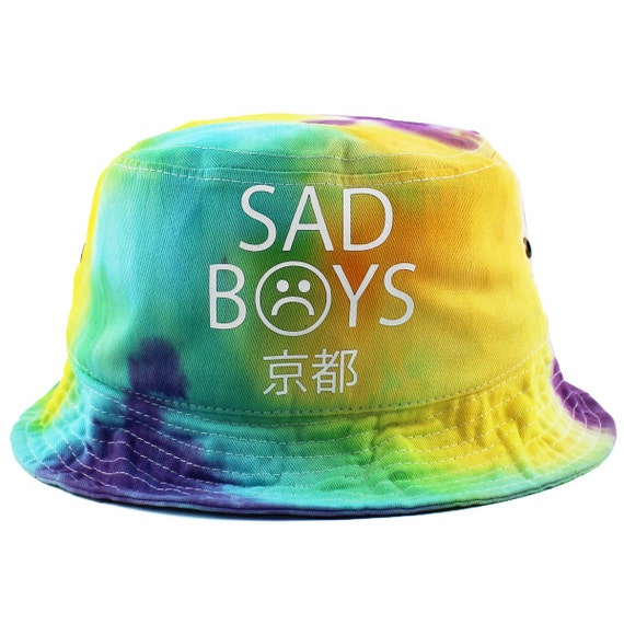 Sad Boy Alone Quotes: Sad Boys Tie Dye Bucket Hat NEW By AgoraSnapbacks On Etsy