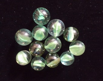 Vintage 1940's -1950's Glass Marbles