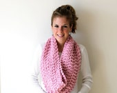 SPRING SALE Womens Chunky Knitted Cowl Scarf Blossom- Anacostia Cowl