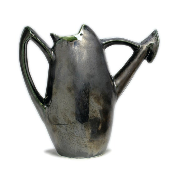 Watering can unique modern handmade porcelain by - Unusual watering cans ...