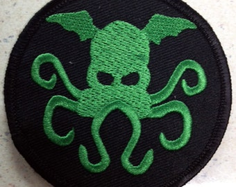 Cthulhu patch H.P. Lovecraft monster
