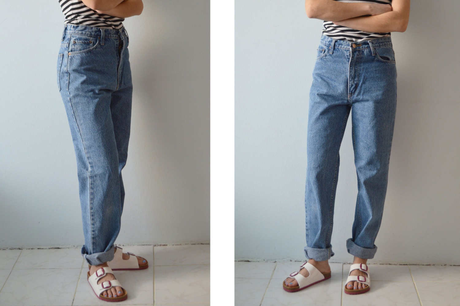 vintage levi 39 s 501 high waisted boyfriend baggy mom jeans. Black Bedroom Furniture Sets. Home Design Ideas
