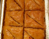 AWARD WINNING Walnut Baklava - 12 pc tray