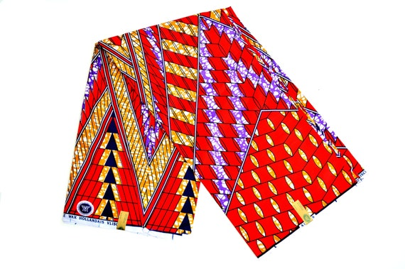 African print fabric for sale red cotton fabric modern for Patterned material for sale