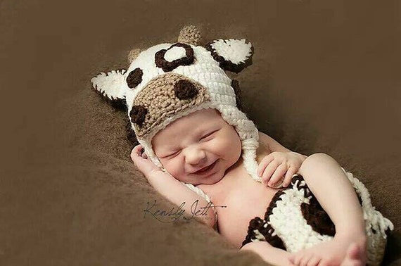 newborn cow outfit