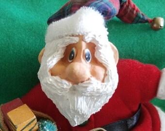 Vintage RUSS Santa, Russ Berrie & Co.