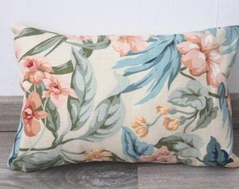Pillow floral pattern