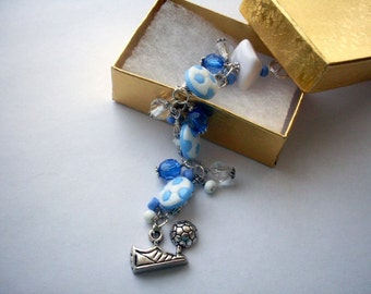 """Rearview Mirror Charm - """"Soccer Inspiration"""""""