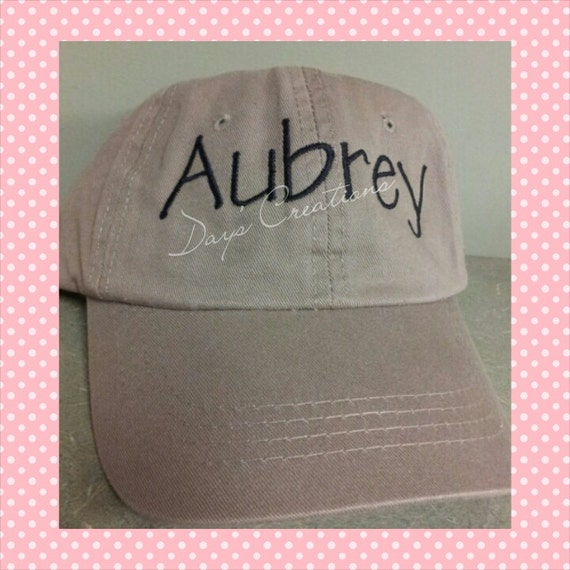 Youth ball cap - personalized embroidered youth ball cap - youth hat monogramed embroidery - custom embroidered youth hat