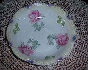 German Porcelain Serving Bowl