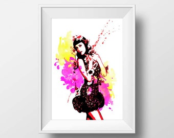 katy Perry poster Print