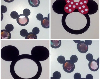 Lot of 36 Preschool Kindergarten Walt Disney Mickey and Minnie Mouse Classroom Picture Frames