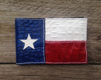Custom Texas flag scorecard holder