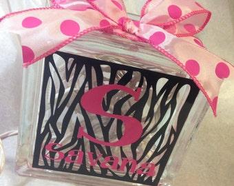 Zebra Print Light Block