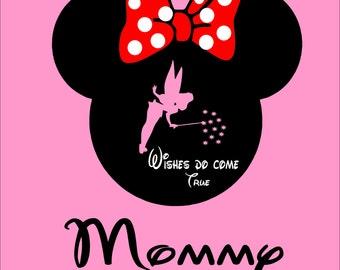 Minnie Wishes Pesonalized Tshirt
