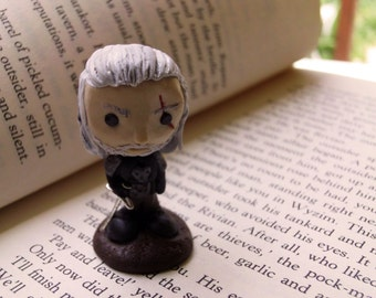 "Geralt of Rivia from  ""The witcher 3"" fan art Miniature"