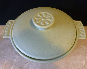 California Pottery Covered Serving Dish