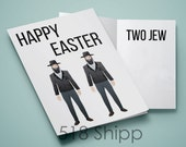 Happy Easter Two Jew - Humor Funny Card