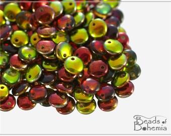 50 pcs Magic Apple Czech Lentil Beads 6 mm (8577)