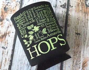 Hops Beer Bottle Cozy