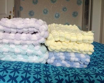 Pom Pom Baby Blankets