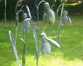 Snowdrop Garden Sculpture, Beautiful Giant Flower Galanthus
