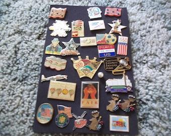 A Nice lot of vintage Lapel Pins---Lot 2