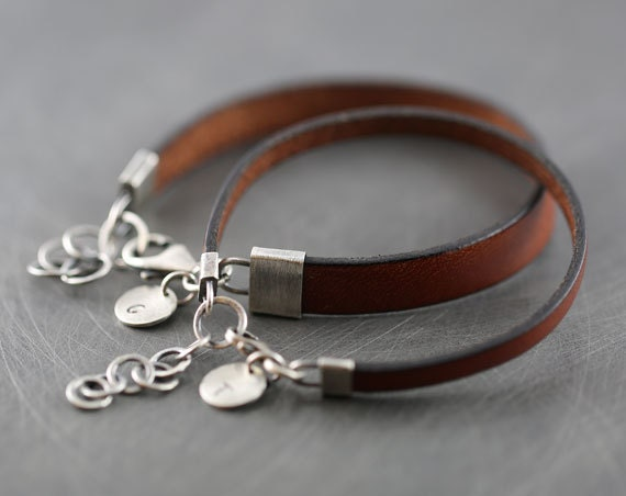 His and hers bracelet matching couple bracelets personalized