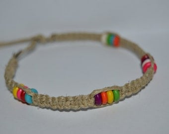 Candy Colored Beaded Bracelet