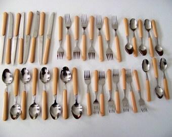NIC Stainless Taiwan 40 Piece Cutlery Flatware Set
