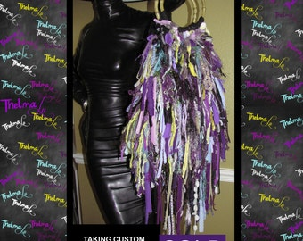 Hippie Fringe Handbag, Ultra Fringe, One Of A Kind ,Custom Made, Purse ,Unique
