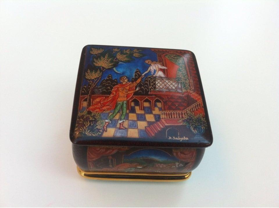porcelain jewelry box trinket box ceramic jewelry box romeo