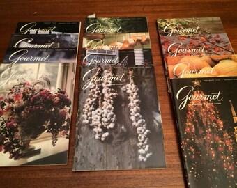Gourmet magazines 1976-1980