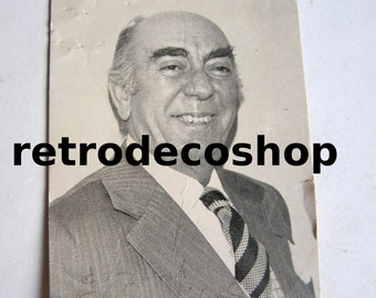 Dionysis Papagiannopoulos original autograph