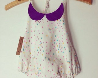 5T Vintage-inspired sun suit