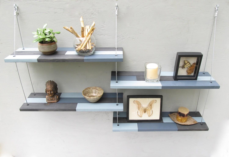 wall shelves industrial shelves floating shelveshome decor