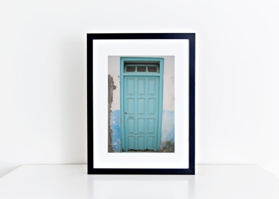 The Turquoise Door //  morocco, travel photography, asilah, turquoise home decor, turquoise
