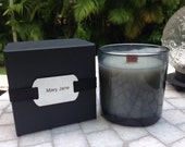 Mary Jane, HIS by AM Candle Company- Soy Candles, Mary Jane Candles, Masculine Scented Candles, Man Cave Candles, Wood Wick Candles, Gifts