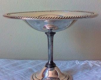 Antique Silver Serving Bowl
