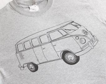 VW Campervan, MENS T-shirt in 7 colours