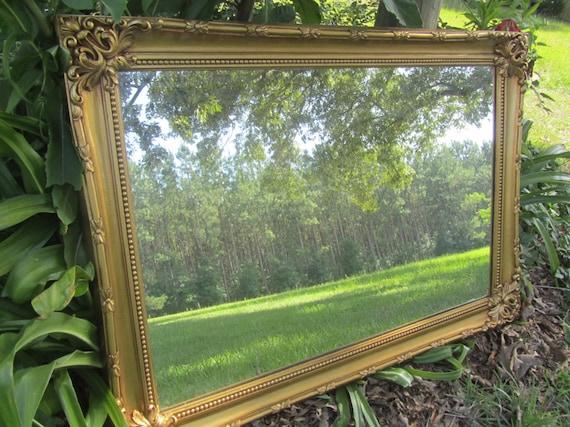 Shabby Chic Mirror Large Mirror Ornate Mirrorantique Gold