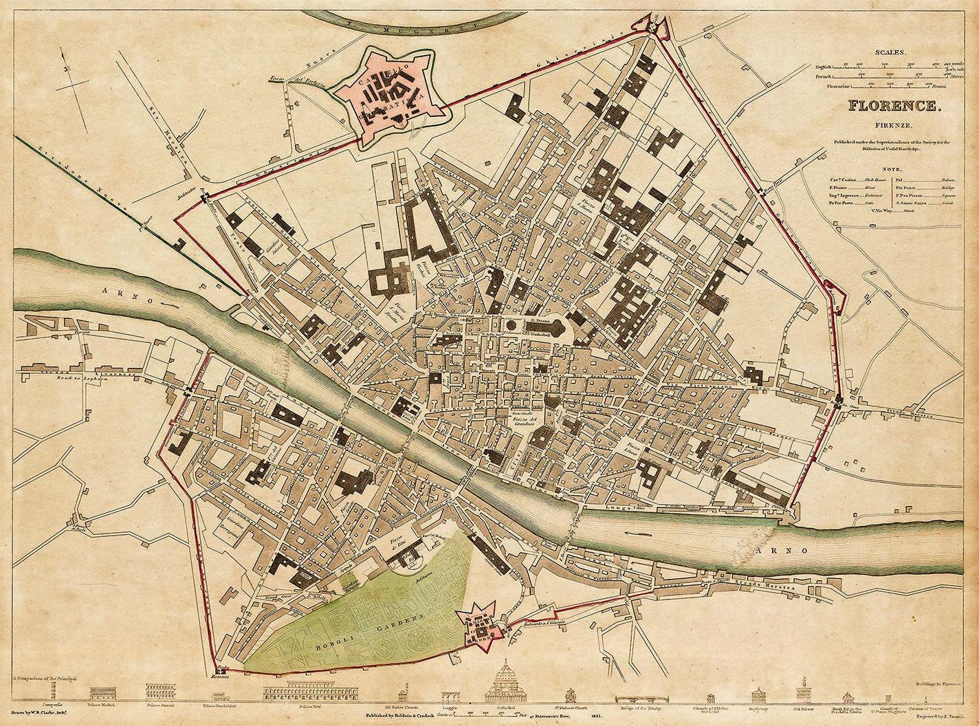 historical maps of florence alabama mall - photo#8