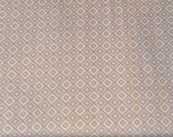 Art Gallery Fabrics Bazaar Style collection small scale diamonds in a warm heather pale purple tone by the yard 100% cotton
