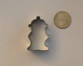 """1.75"""" Mini Fire Hydrant Cookie Cutter"""