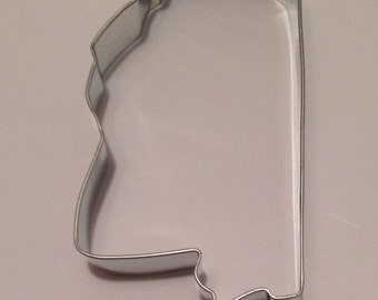 "3.5"" State of Mississippi Cookie Cutter"