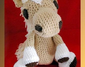 Molly The Mare Crocheted Pony